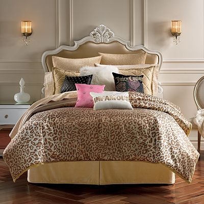 Juicy Couture Animal Instinct Bedding Collection Beading