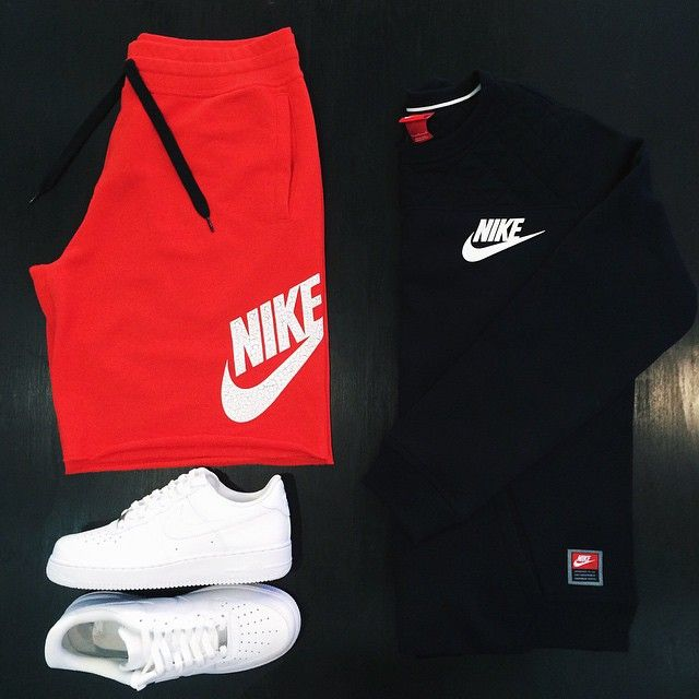Nike Air Force 1 Nike Aw77 Alumni Shorts Nike Fb Fleece Crew
