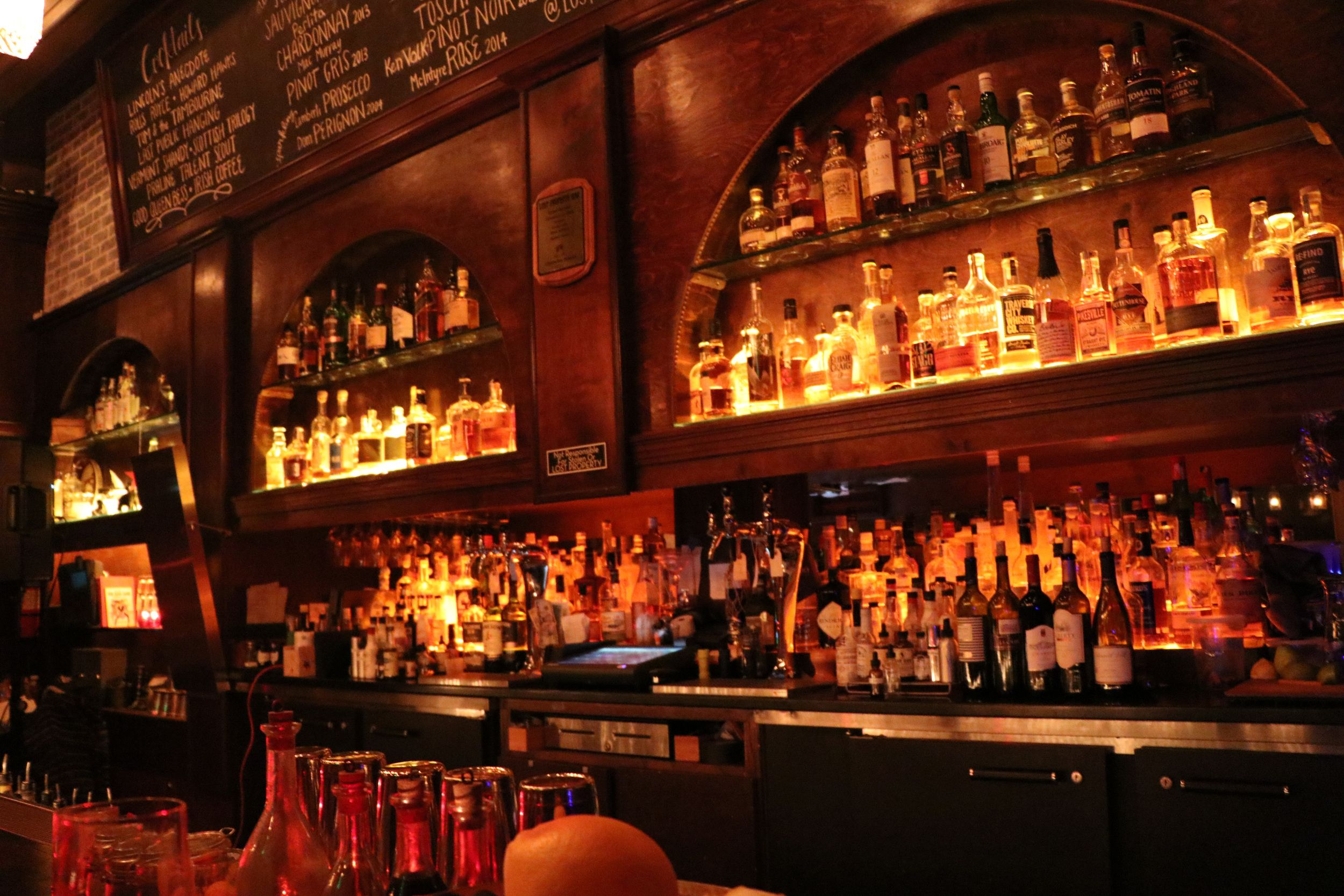 Lost Property Bar Hollywood Bar Property Liquor Cabinet