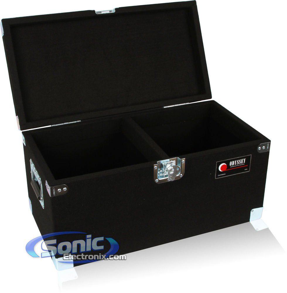 Odyssey Clp200p Carpeted Pro Lp Case With Recessed Hardware For 200 Vinyl Lp S Vinyl Vinyl Records Lps