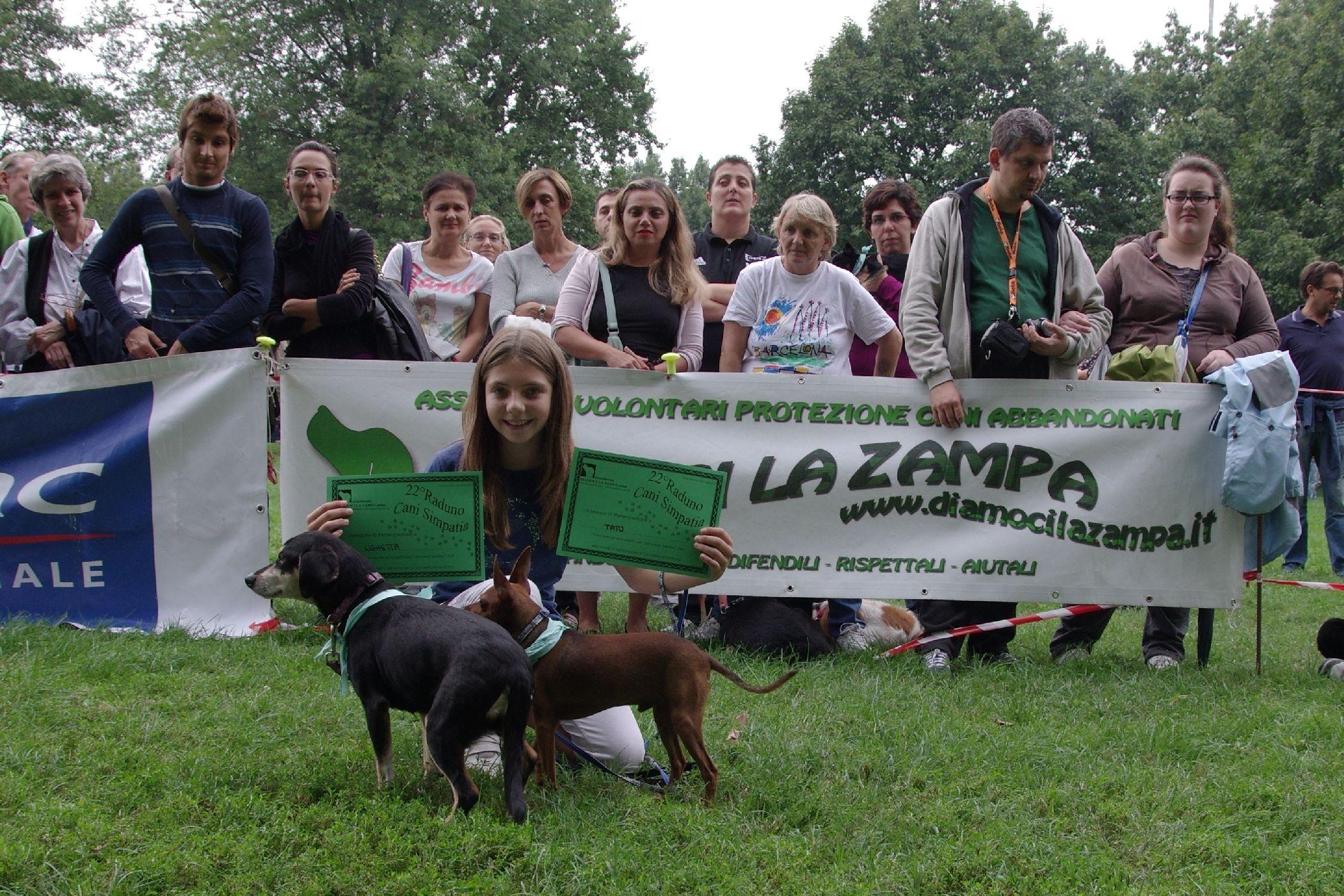 Parco Forlanini durante una festa dei cani nel 2012