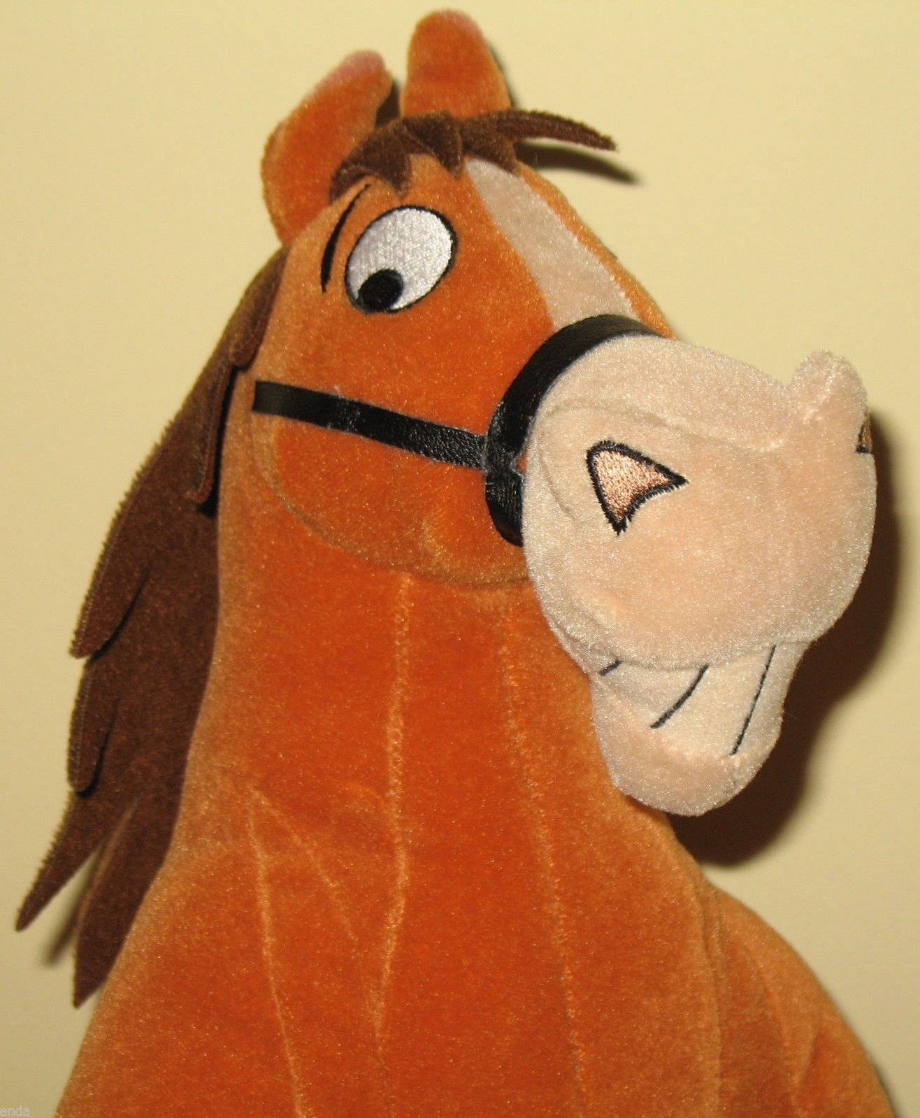 Disney Store Home On The Range Plush Buck Toy 19 95 With Free Shipping And Handling Movie Gift Disney Store Disney Home