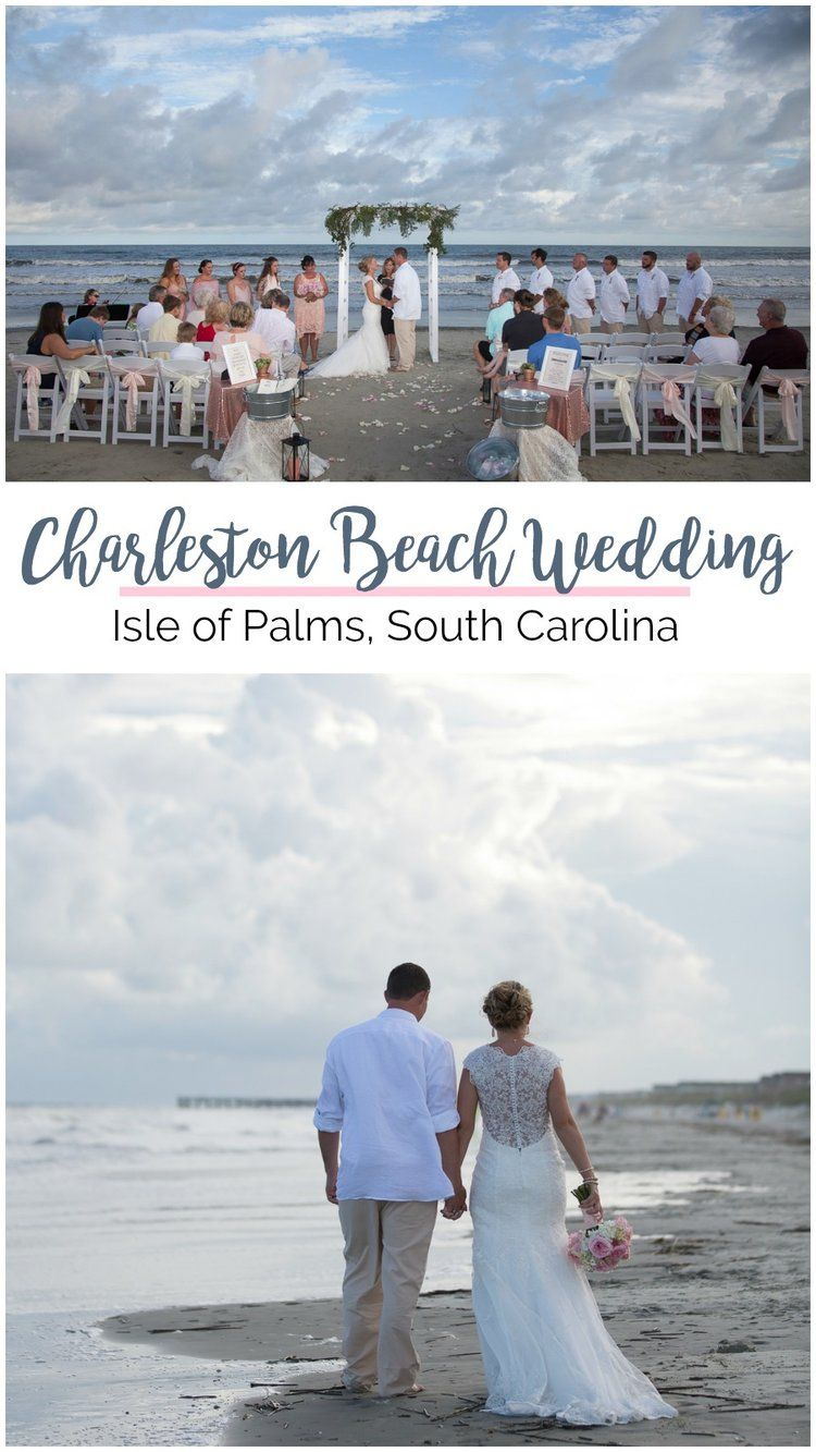 Brittany Josh Charleston Beach Wedding On Isle Of Palms