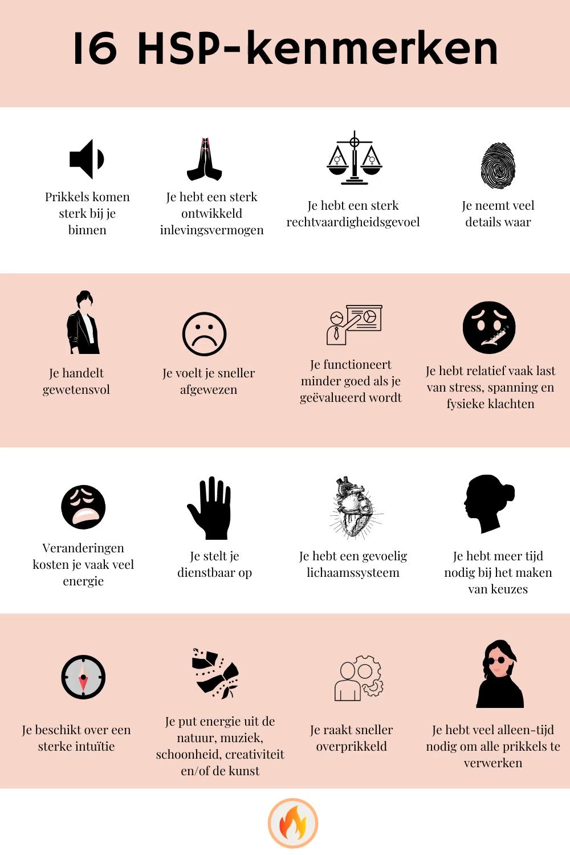 Hoogsensitief | 16 HSP-kenmerken