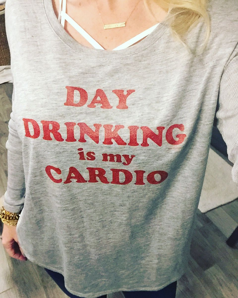 e201a29a Day drinking is my cardio tee, Champagne tee, graphic tee, Brunch squad,  funny tee, champagne t-shirt, Mimosas tee, mimosa t-shirt, brunch tee