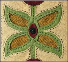 Image result for folk art wool applique