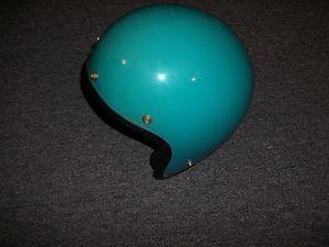 Vintage Javalin Sturgis MI Blue Motorcycle Cycle Helmet Javelin | eBay
