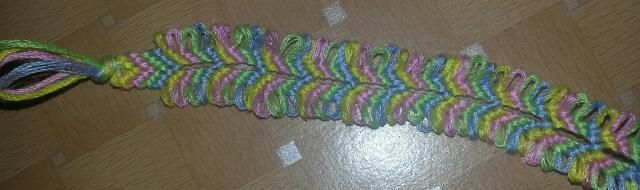 Chevron Loop Bracelet Tutorial