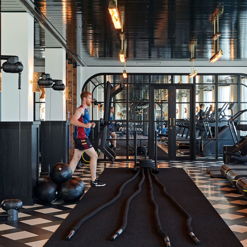 Pin By Studio Laloc Lauren Caron On Our Seattle Craftsman In 2020 Gym Soho House Fitness Studio