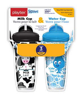 Sipsters Stage 3 Water And Milk Straw Cups Sippy Toddler Cup Sippy Cup