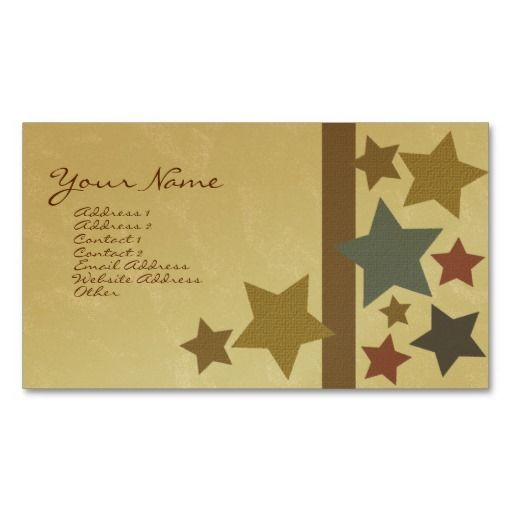 Star business card businesscards httpzazzlectek101 star business card businesscards httpzazzlectek101 reheart Gallery