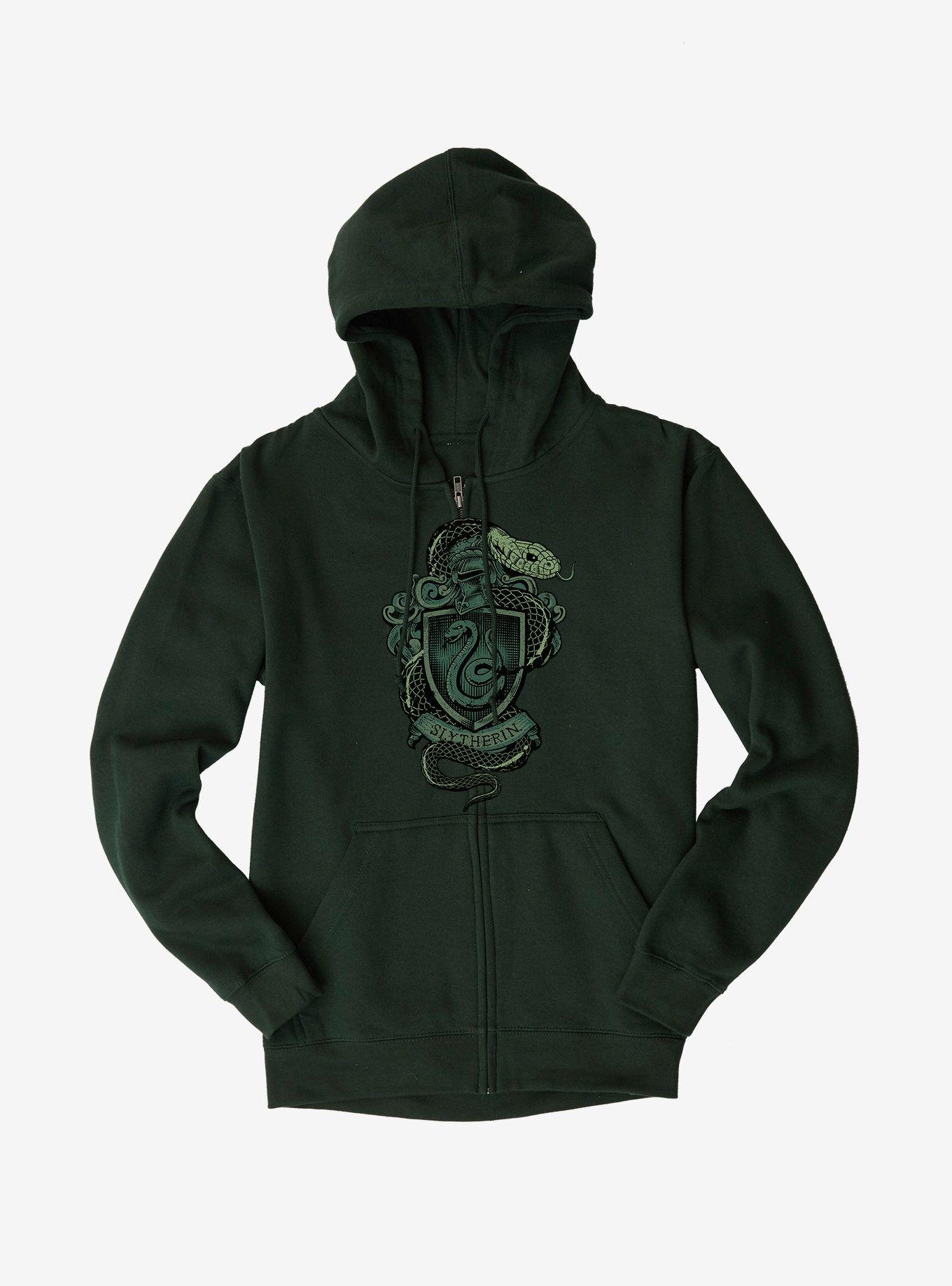 Slytherin Logo Hoodie Hoodie Images Hoodies Harry Potter Hogwarts Castle