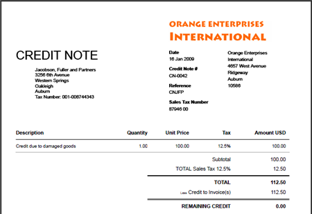Credit Note Template Format Free Excel XLS Templates Excel