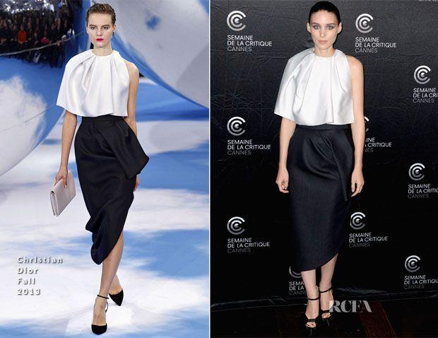 Rooney Mara In Christian Dior – 'Ain't Them Bodies Saints' Cannes Film Festival Photocall