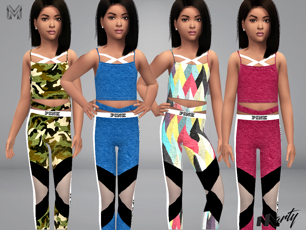 Sims 4 CC Finds — martyp8: MP Electra Sport Outfit (child