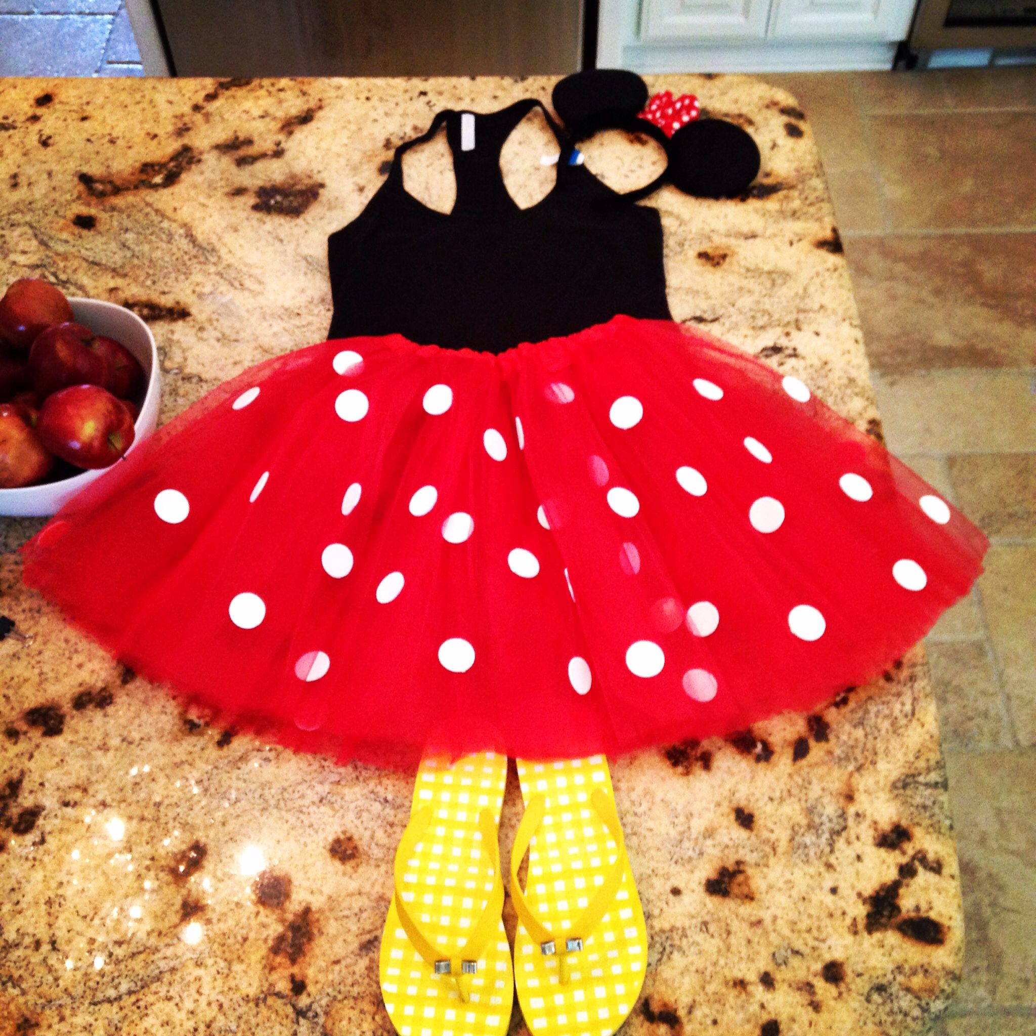 My costume for Mickey's Not So scary Halloween Party. Minnie Mouse ...