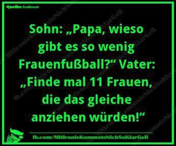 Fussball Sport Zitat Fun Lustig Frauen Fussball