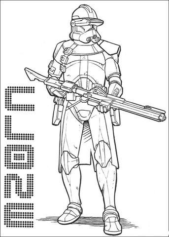 Clone Commander Cody Coloring Page Free Printable Coloring Pages In 2020 Star Wars Coloring Sheet Star Wars Coloring Book Star Wars Colors