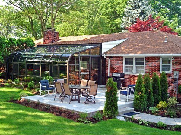 backyard patio garden - Google Search   San vuon   Pinterest ...