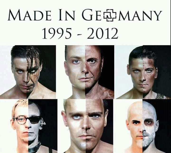 Rammstein~Made In Germany | Germany | Till lindemann, Rock