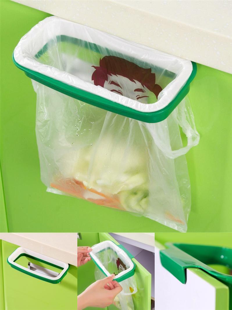 Visit To Buy Cupboard Door Back Trash Rack Storage Garbage