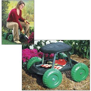 Rolling Garden Scooter   Problem Solvers For Home, Yard, Garden, Auto U2013 Pest