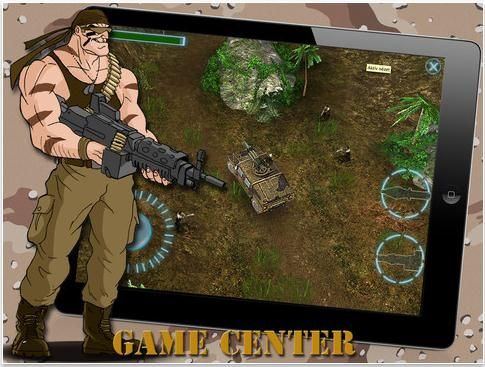 """A classic arcade style 3D shooter game, set in the south American jungle.    Based on the old Commodore64/Amiga game """"Rambo"""" and """"Commando"""".    You have to help Jack Gunfire, a cynic war hero to stop Albrecht Braun from taking over the world."""
