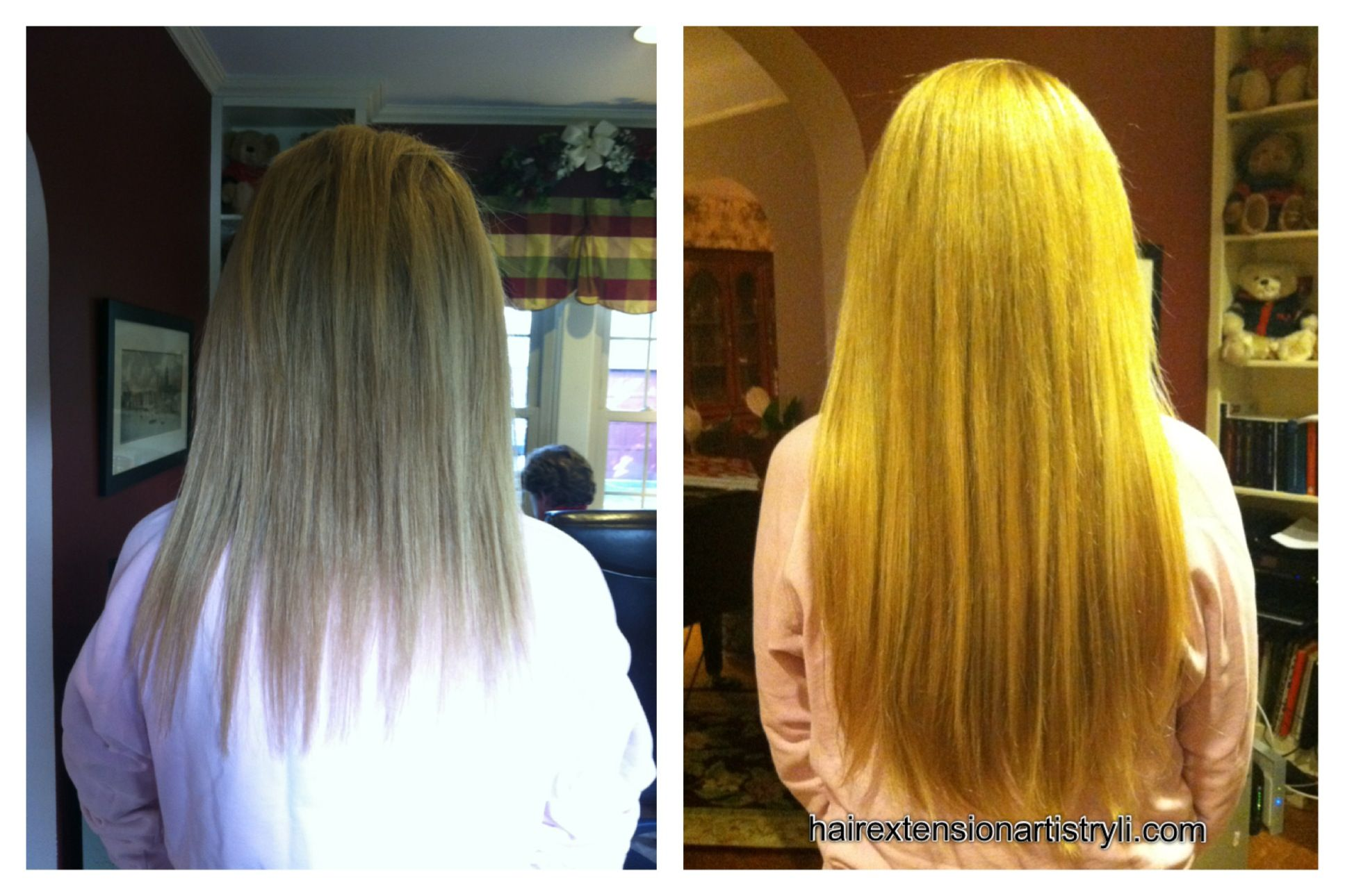 Say Goodbye To Frayed Ends Makeover With Remy Human Hair Extensions