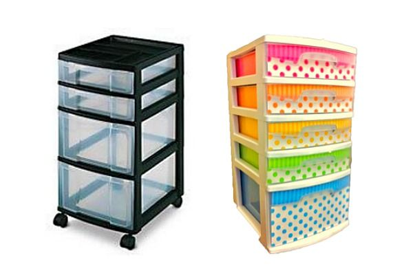 You Know Those Portable Plastic Drawers For The Dorm Some Diy Advice Making Them Stylish Inspired By Pinterest Backtoschool