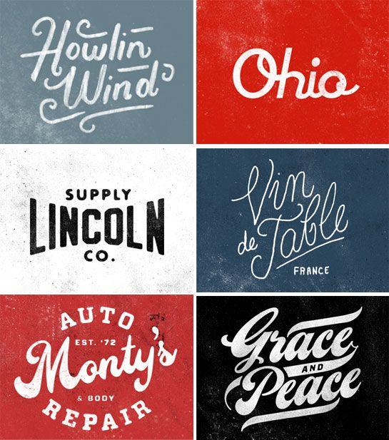 6 Nice vintage logos!