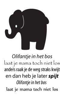 Versierendoejezo! Muursticker olifant http://www.versierendoejezo.nl/versierendoejezo-muursticker-olifant.html
