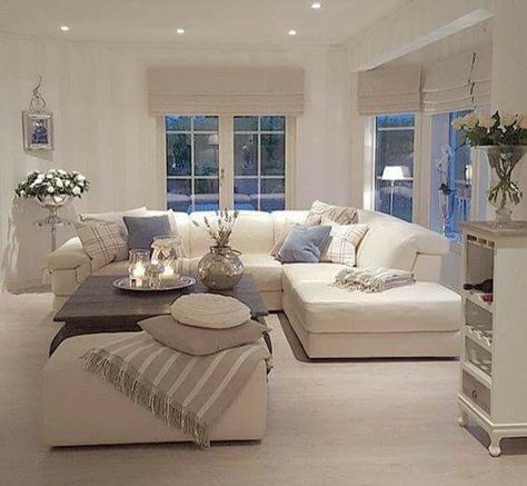 the few items of soft blue add just that touch of color. Black Bedroom Furniture Sets. Home Design Ideas