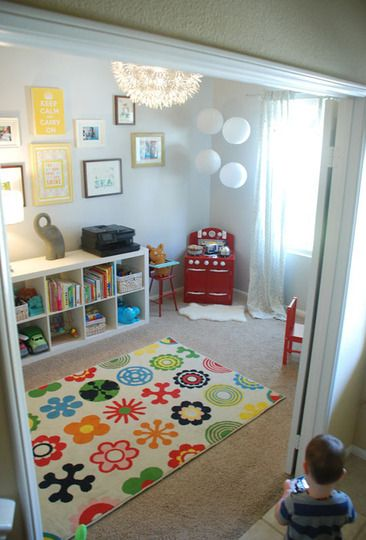 A Cheery Room Just for the Kids \u2014 My Playroom Playrooms, Room and