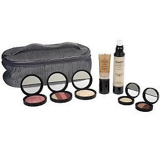 Laura Gellers Ultimate 7-pc Collection with Train Case- QVC- $115.00- This is a bit expensive, but looks really cool to try<3