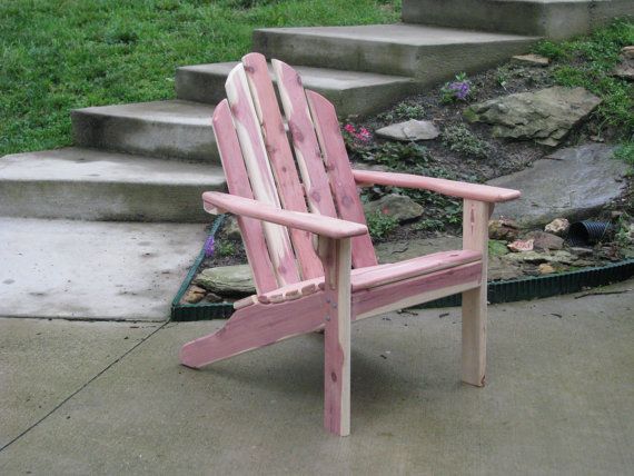 Eastern Red Cedar Adirondack Chair With Images Adirondack
