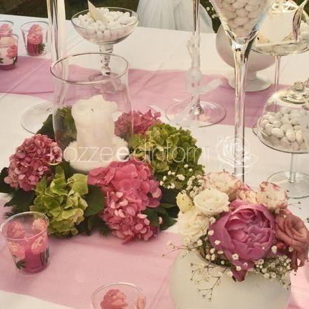 Nozze e dintorni wedding table decorations decor for Decorazioni tavoli matrimonio