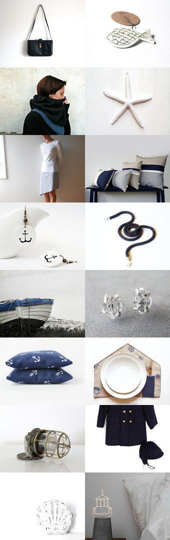 Winter nautical by Anna on Etsy--Pinned with TreasuryPin.com