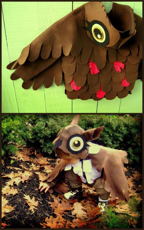 hooded owl costume Dress Up Pinterest Halloween costumes and - 18 month halloween costume ideas