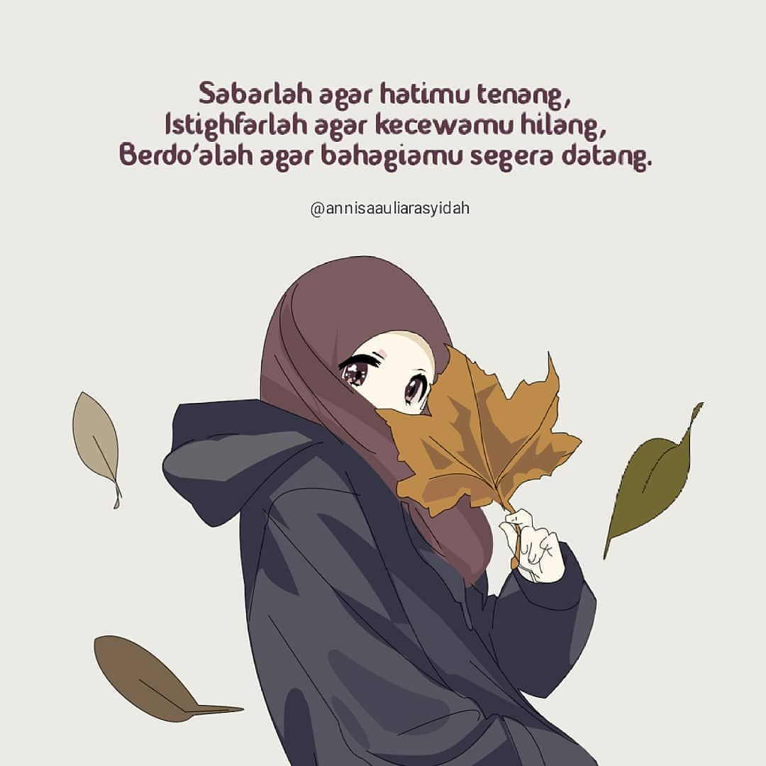 Pin Oleh Angelica Demaga Di Cartoon Hijab Words