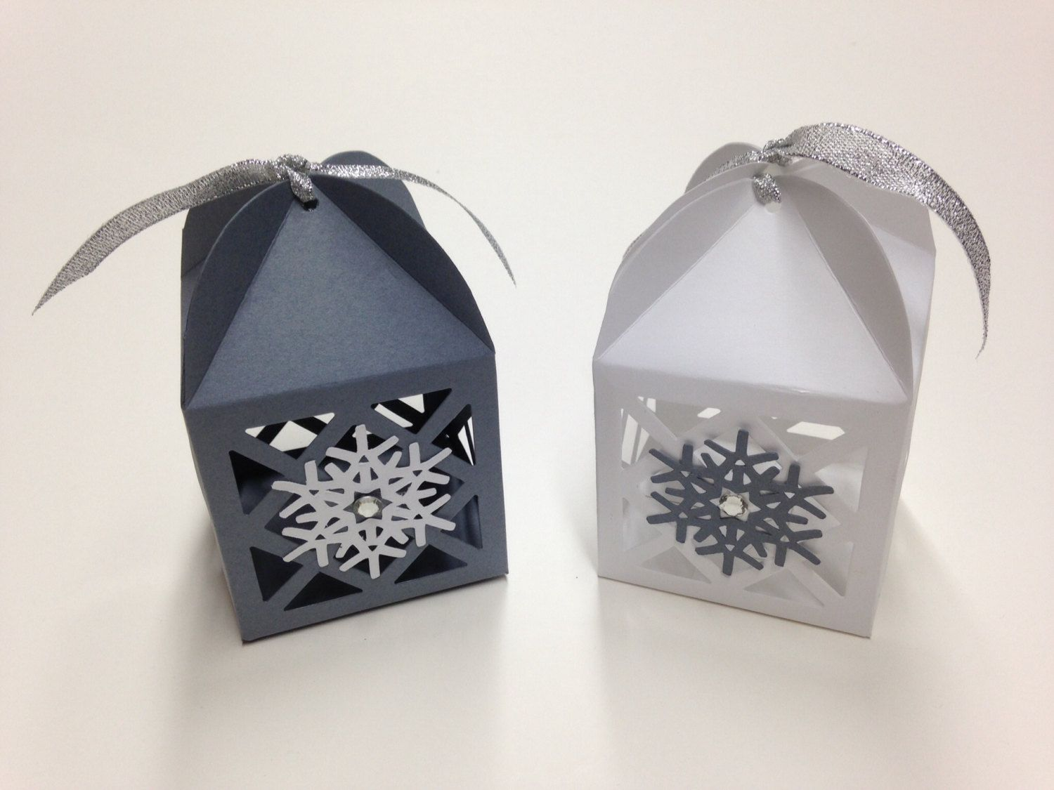 Snowflake Favors Snowflake Favor Boxes Winter Wedding Favor Winter ...