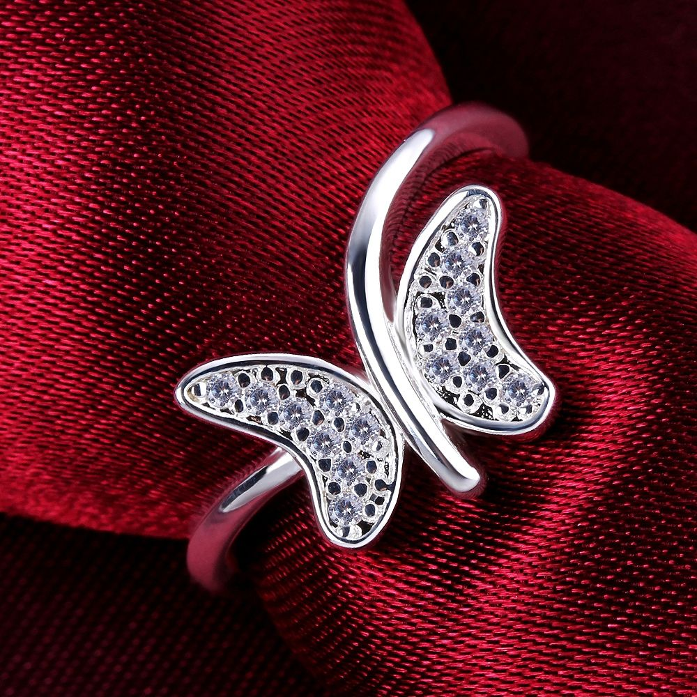 Free-Shipping-925-Silver-Crystal-font-b-Butterfly-b-font-Rings-Fashion-Silver-Plated-Rings-Wholesale.jpg (1000×1000)