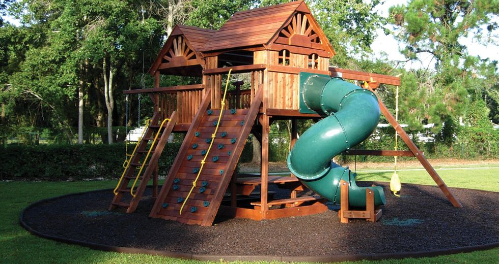 Do it yourself playground backyard playground diy