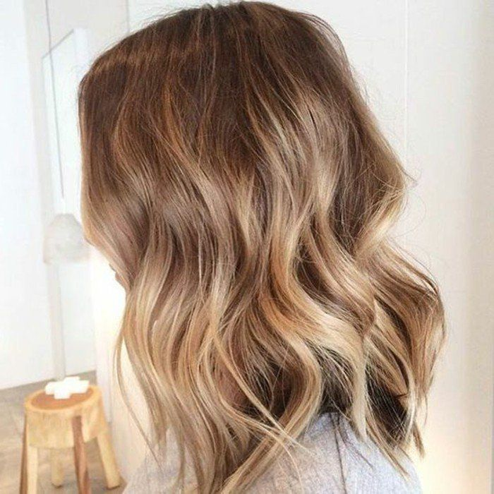 balayage blond ou caramel pour vos cheveux ch tains balayage sur cheveux brun cheveux bruns. Black Bedroom Furniture Sets. Home Design Ideas