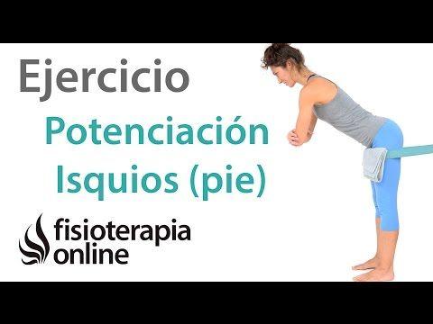 tendinitis de isquiotibiales ejercicios