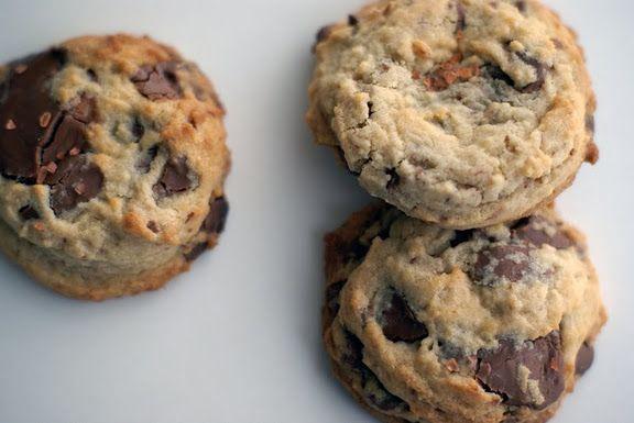MILK CHOCOLATE CHUNK COOKIES with PINK SEA SALT