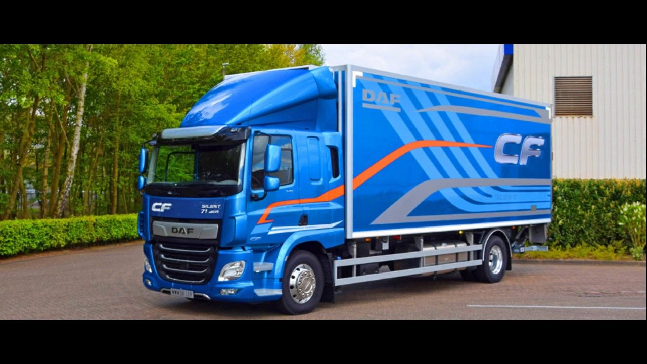 2019 DAF CF new design and powerful engine | NEW CARS MODELS