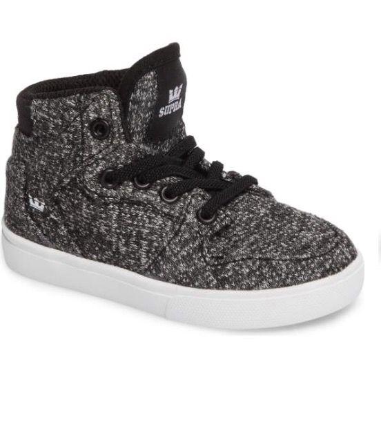 21111a11cc Supra 'Vaider' High Top Sneaker (Walker & Toddler) | Nordstrom ...
