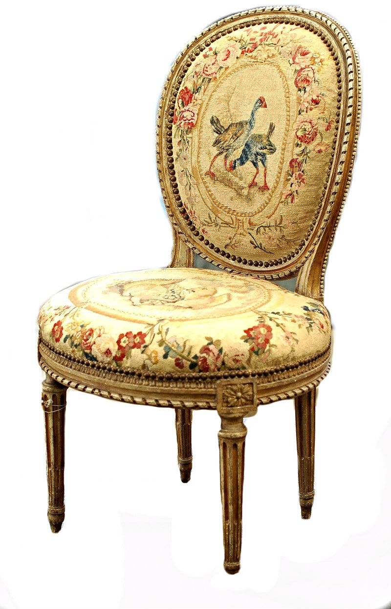 Graham Geddes Antiques   A Pair Of Louis XVI Chairs By Georges Jacob, Circa  1780