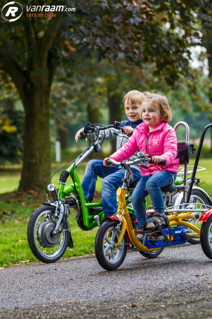 Trikes For Children By Van Raam For Children That Cannot Ride A
