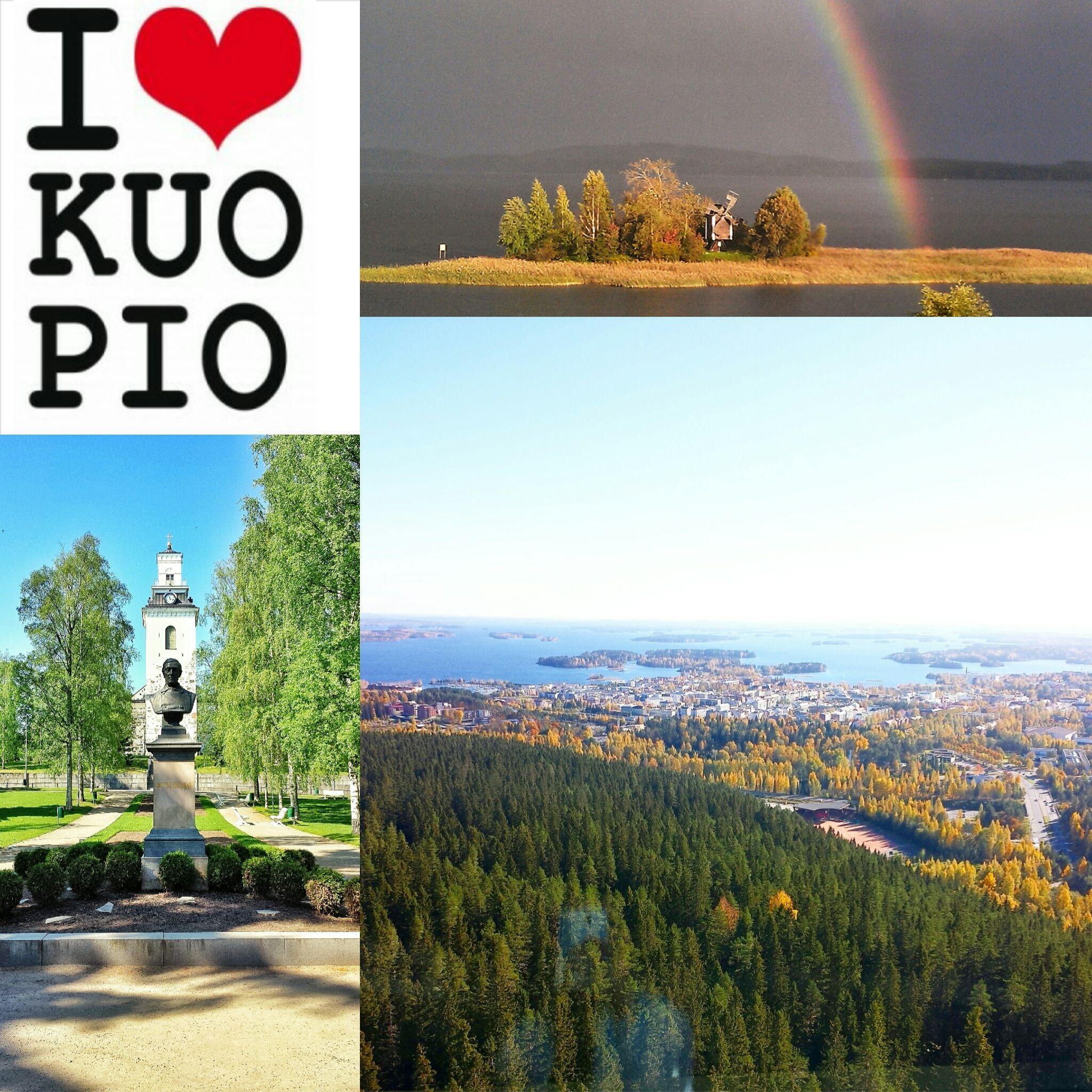 RAKKAUS: Palava rakkaus #Kuopio:ta kohtaan. Mualiman paras paikka, immeisen kokoinen kaapunki! Kuvat omista arkistoista sekä lovekuopio.com/